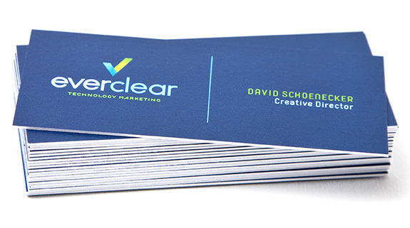 Everclear Business Cards