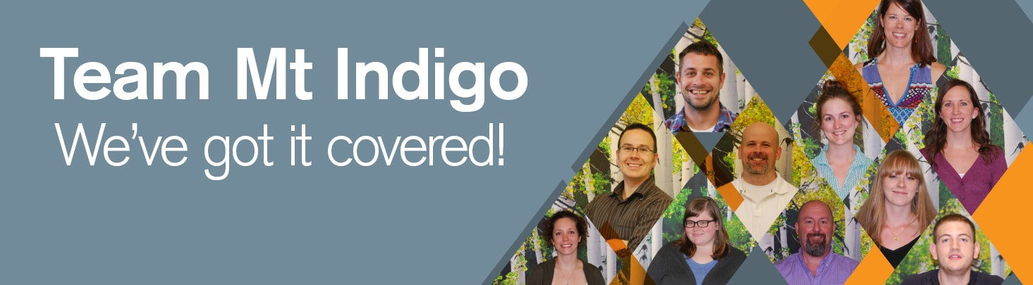 Team Mt Indigo ... We've Got it Covered!